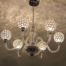 Crystal chandellier